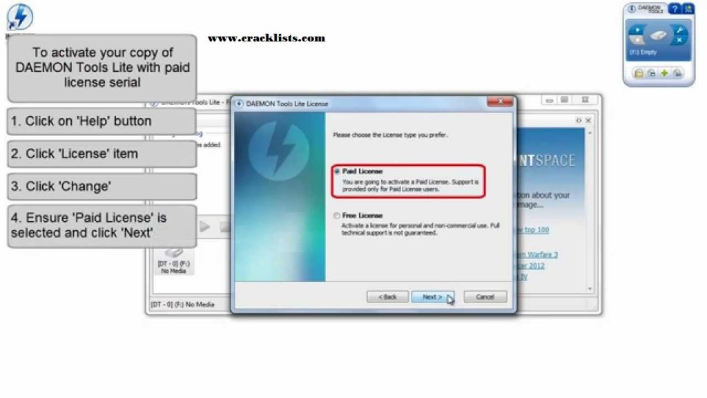 DAEMON Tools Lite 10.1 Serial Key keygen