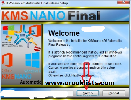 KmsNano Automatic Activator Final 2016 Windows 7