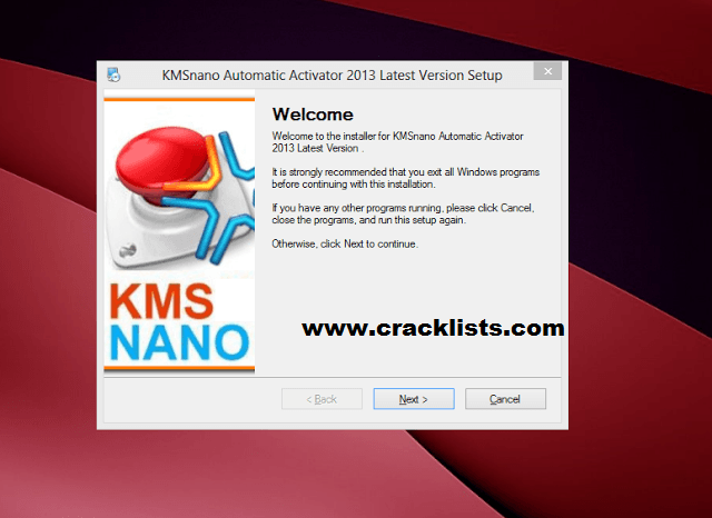 KmsNano Automatic Activator Final Windows 7, 8, 8.1