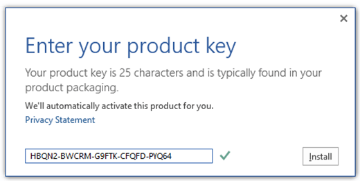 Microsoft Office Professional Plus 2019 Product Key Free