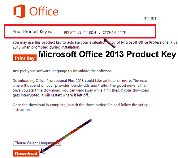 ms office professional plus 2016 product key