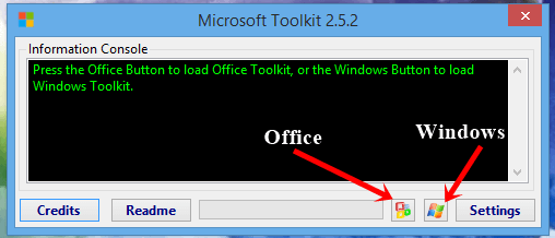 Microsoft Toolkit 2.5 Beta 5 Activator for Windows