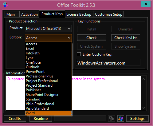 Microsoft Toolkit 2.6.6 for Windows 10 Free