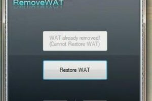RemoveWAT 2.2.8 Windows 7 Working Activator Full Download