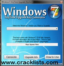 Windows 7 Key Generator >> Windows 7 Product Key Plus Serial Numbers Free Download