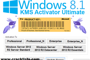 Windows 8.1 Pro Build 9600 Permanent Activator KMS, DAZ 2015