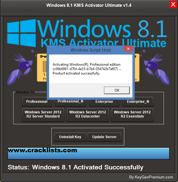 Windows 8.1 Pro Build 9600 Permanent Activator free