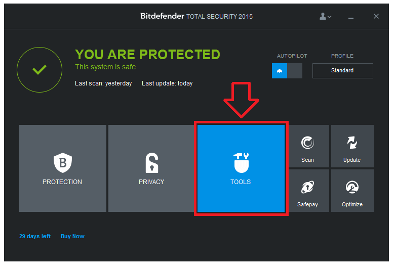 Bitdefender Total Security 2015 Offline Installer with Crack