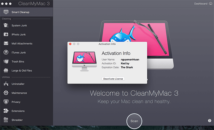 Cleanmymac 3 Activation Number License Keygen Download