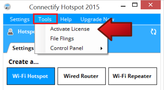 Connectify Hotspot Pro 2016 Full License Key Free