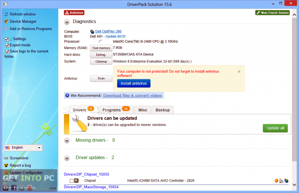 DriverPack Solution 15.10 Full Free Download