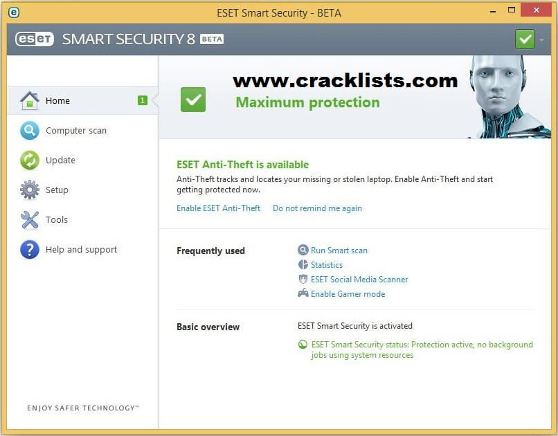 Eset Smart Security 8 Username and Password 2017