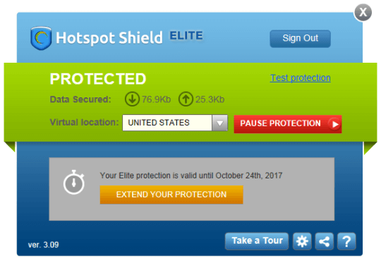 Hotspot Shield VPN Elite 5.20.2 Latest Incl Crack