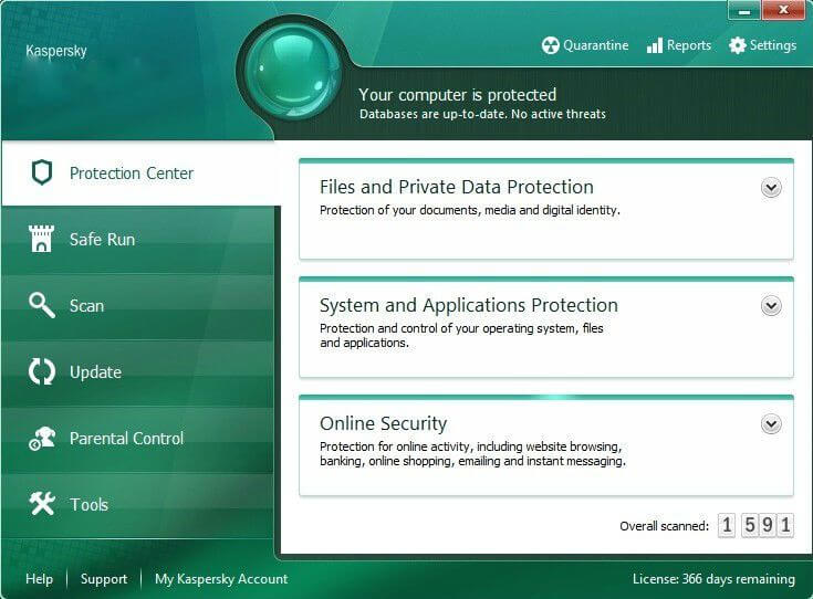 kaspersky antivirus  crack version