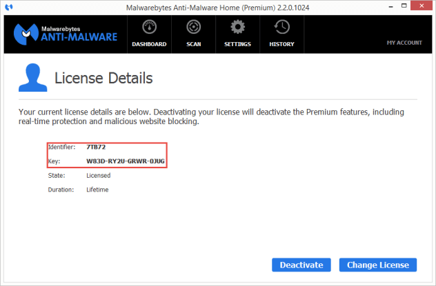 Malwarebytes Anti-Malware Premium 2.2.0.1024 keygen free