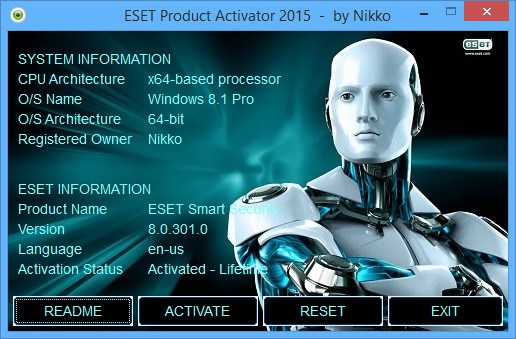 Nod32 9 & 8 Serial License keys Username and Password Free