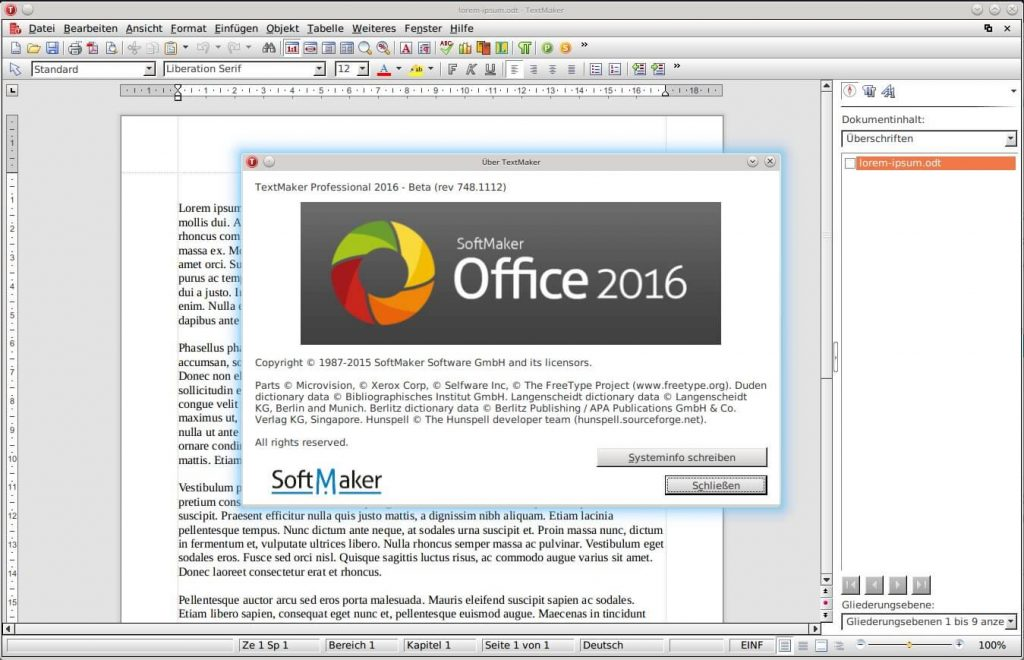 SoftMaker Office 2016 Portble Free Download