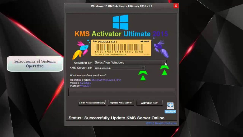 kms activator for windows 10 and office 2016