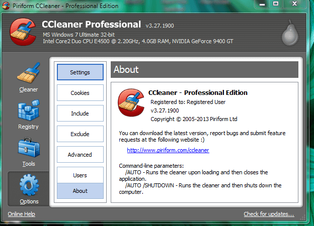 how to activate ccleaner professional plus serial key