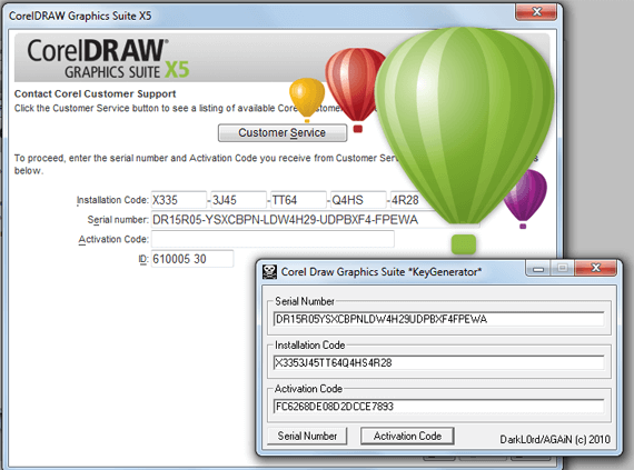 Corel Draw X5 Crack With Full Final Codes Download