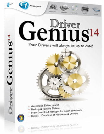 Driver Genius 14 Crack No Survey plus License Code Free
