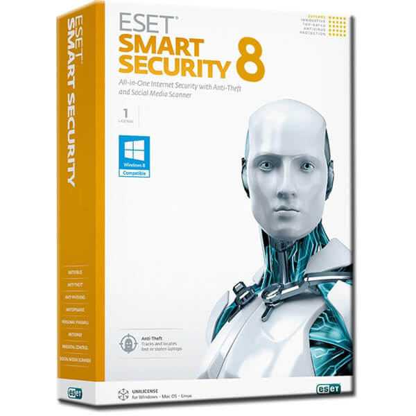 Eset Smart Security 8 Crack with Activation Key Free Download