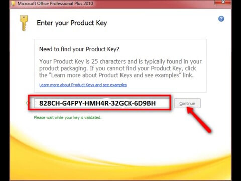 microsoft product key download 2010