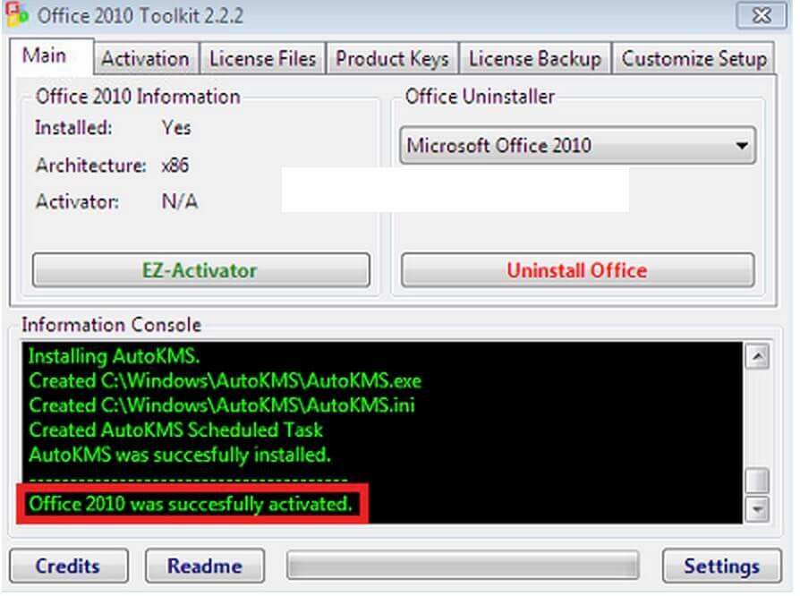 ms office 2010 crack product key