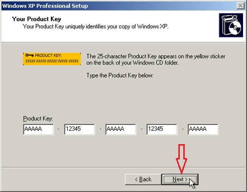Windows XP Product key for SP2, SP3 Latest and Working