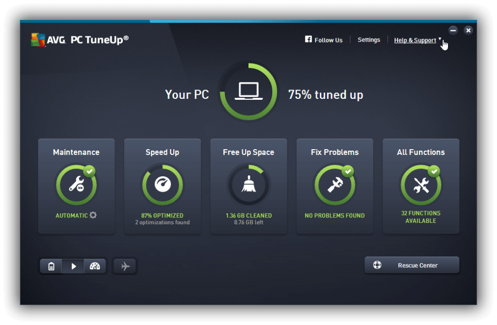 AVG PC TuneUP 2016 crack