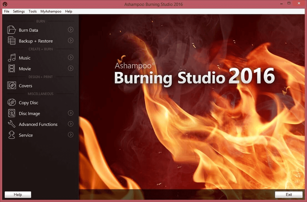 Ashampoo Burning Studio 2016 Serial Key