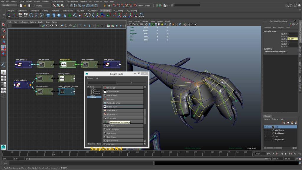 Autodesk Maya 2016 Crack Free Download