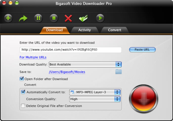 Bigasoft Video Downloader Pro 3.8.6 Serial Key