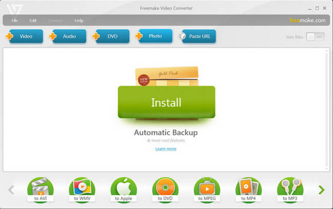 Freemake Video Converter Gold 4.1.9.8 CrackFreemake Video Converter Gold 4.1.9.8 Crack