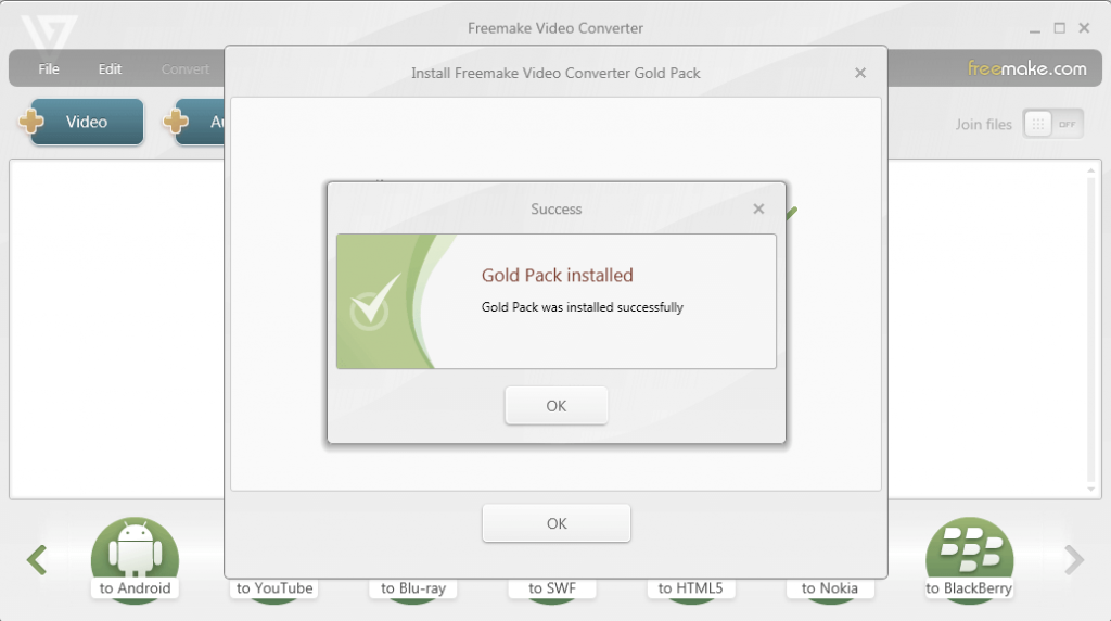 Freemake Video Converter Gold 4.1.9.8 Serial keys