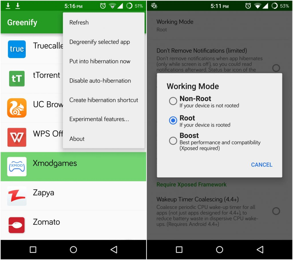 Greenify Donate 2.8.1 Final Apk