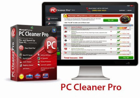 PC Cleaner Pro 2016 Crack with License Key Free Download