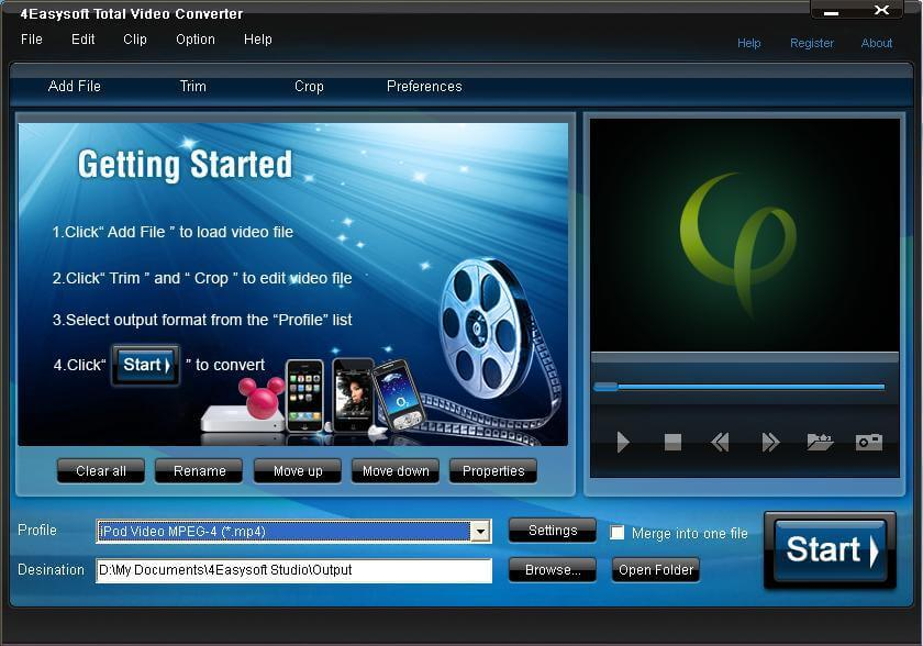 Total Video Converter 3.71 Crack Full Download