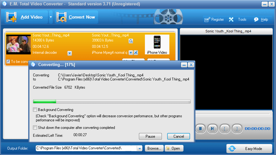 Total Video Converter 4.8 Serial Key