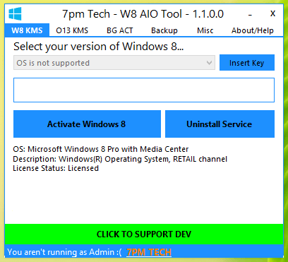 Windows 8 activator free download
