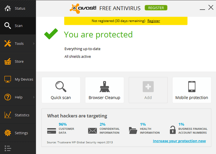 avast antivirus with crack free download 2016 full version
