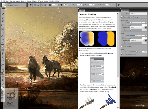 Corel Painter 2016 Crack Mac OS X