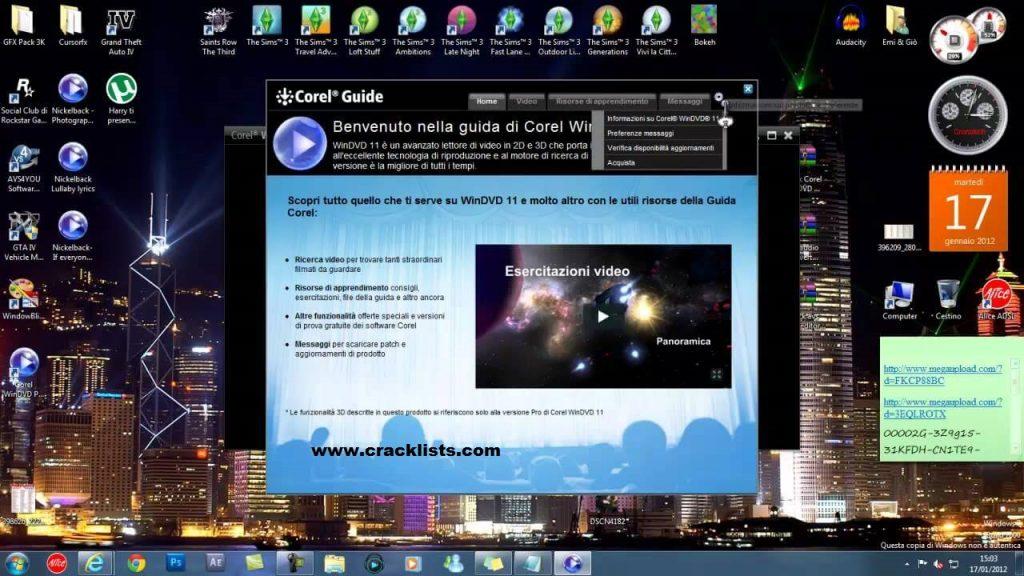 Corel WinDVD Pro 11 Crack