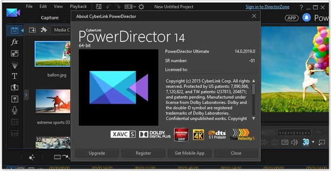 CyberLink PowerDirector 14 Ultimate crack