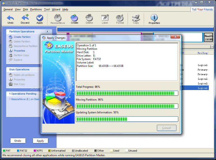 Download EASEUS Partition Master 11 Full patch