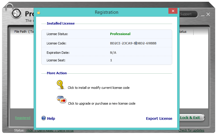 Iobit Protected Folder 1.2 Serial key