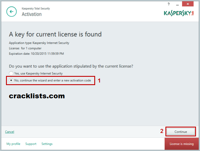 K7 Total Security Activation Key 2016