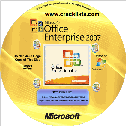 Free Microsoft Office 2007 Product Key 2020 Download