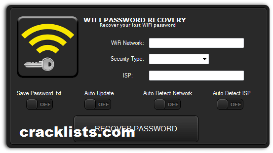 Wi-Fi Password Recovery 5.0 Patch