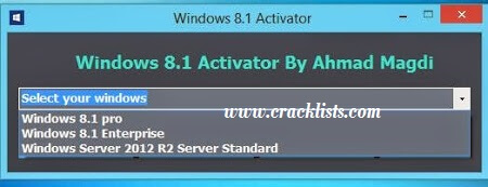 Windows 8.1 Activator Free